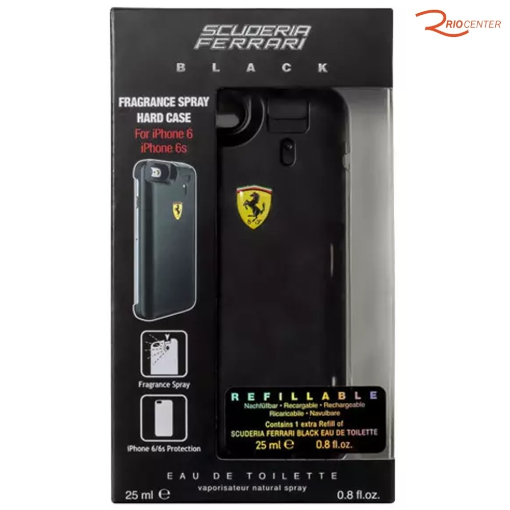 Scuderia Ferrari Black Capa Para iPhone Eau de Toilette - 25ml