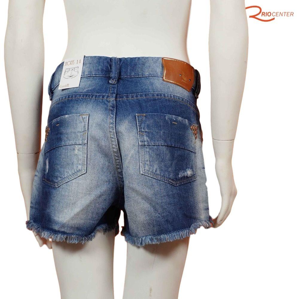 Short Crawling Jeans Feminino