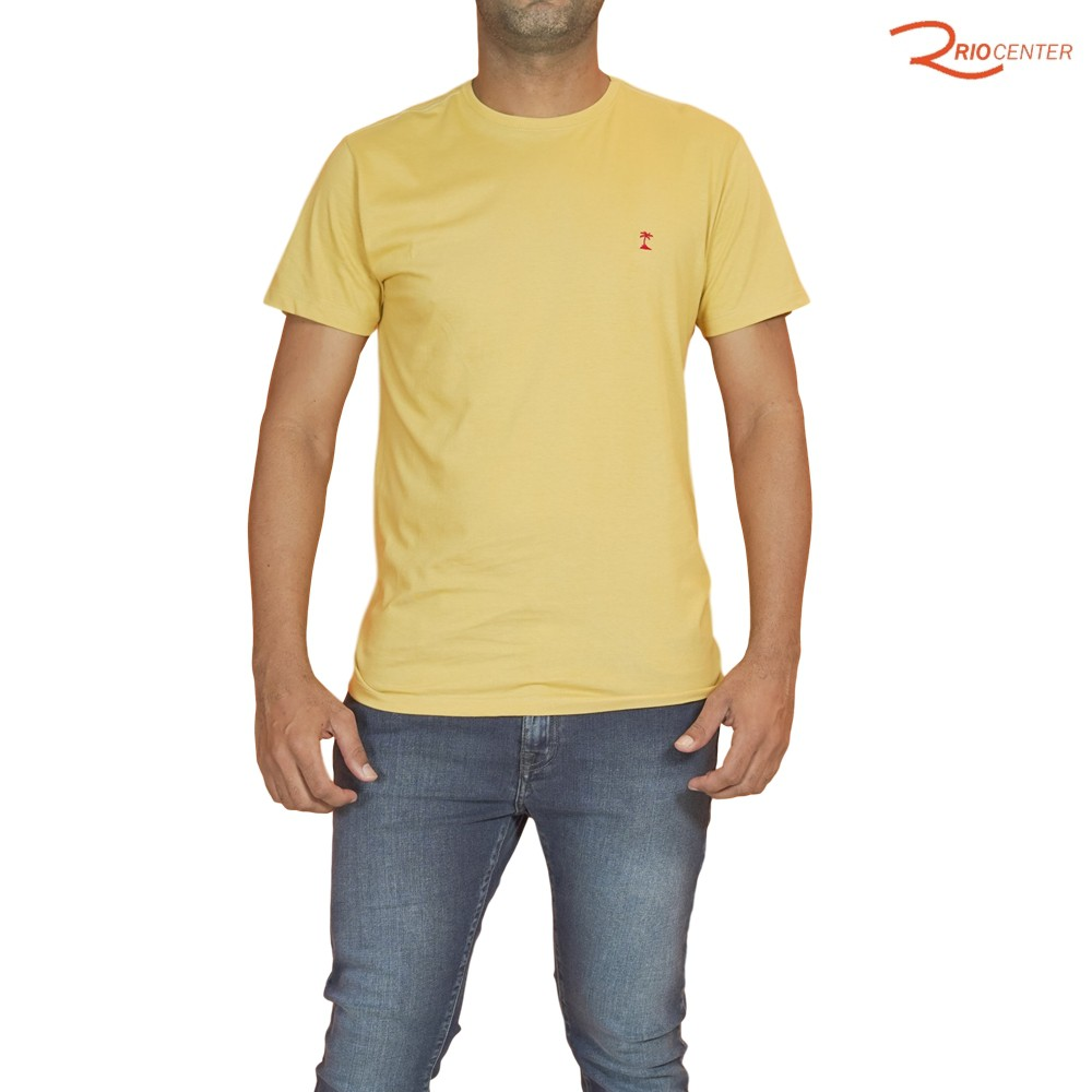 T-Shirt AD Lisa Mostarda