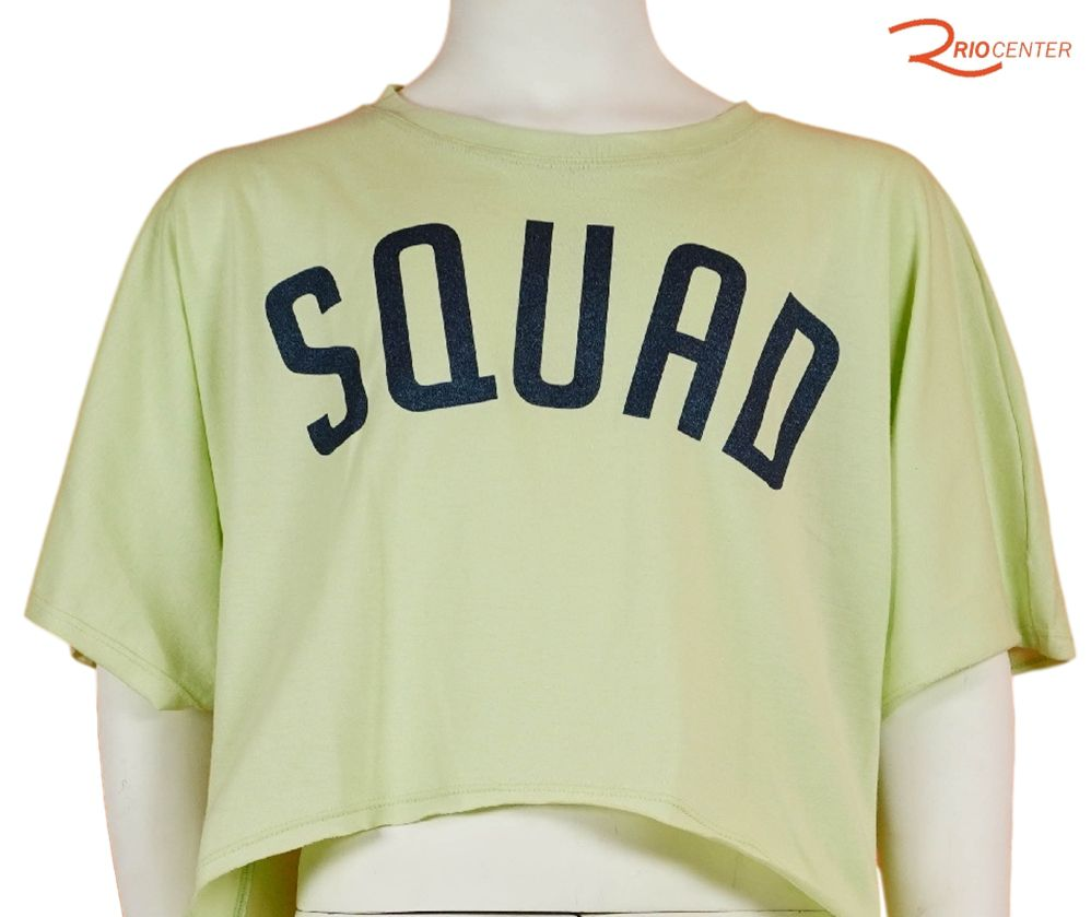 T-Shirt Bobbylulu Squad Verde