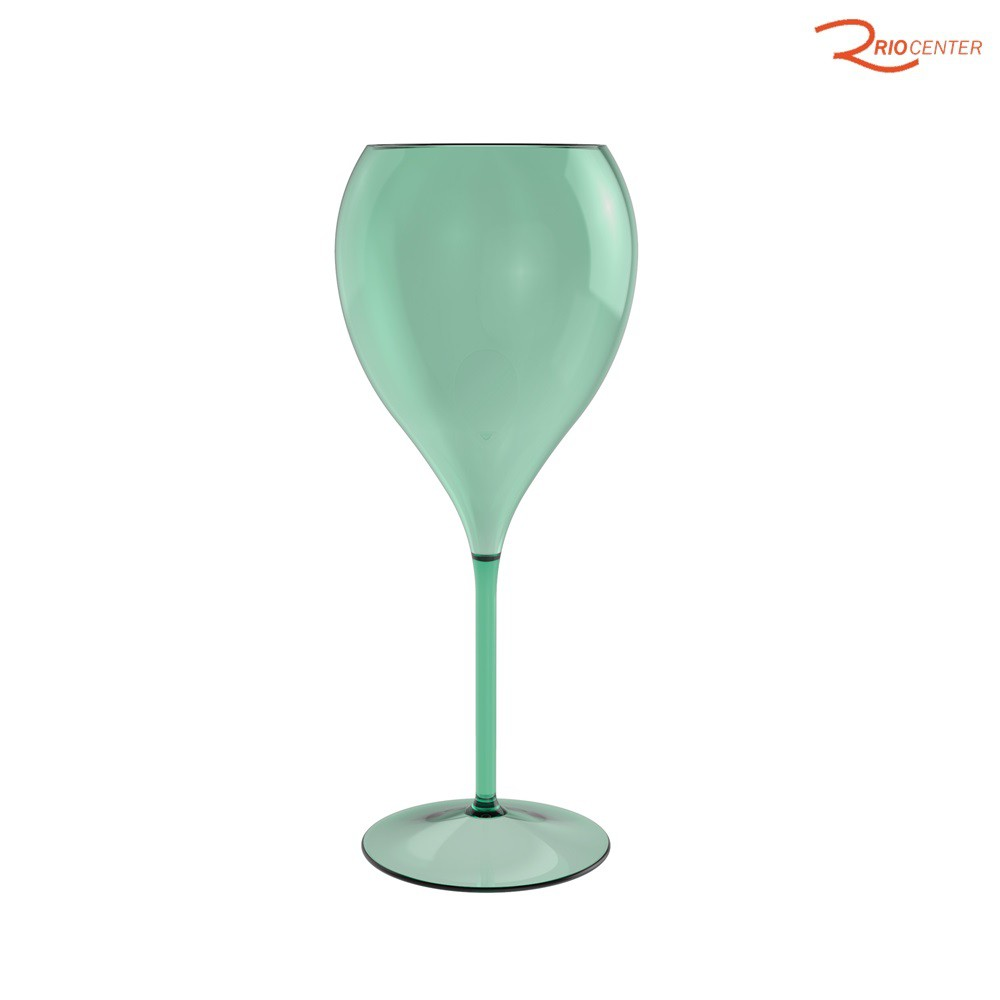 Taça Água Ou Em Poliestireno Verde 575ml