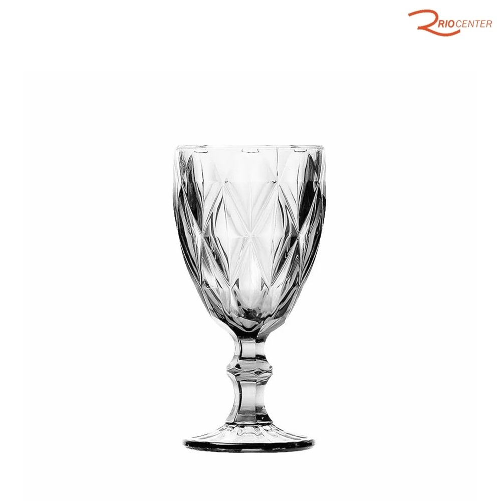 Taça De Vinho Class Home Diamante Clear 210ml
