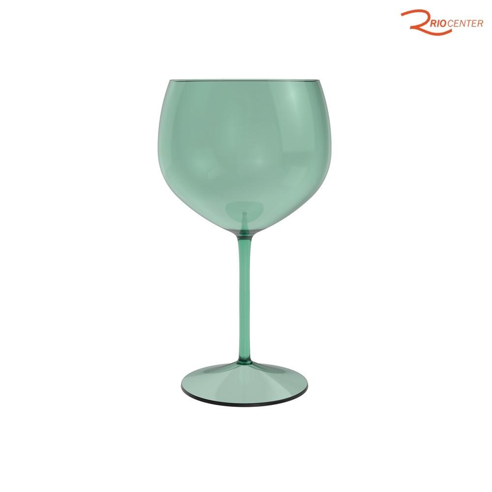 Taça Gin Ou Em Poliestireno Verde 600ml
