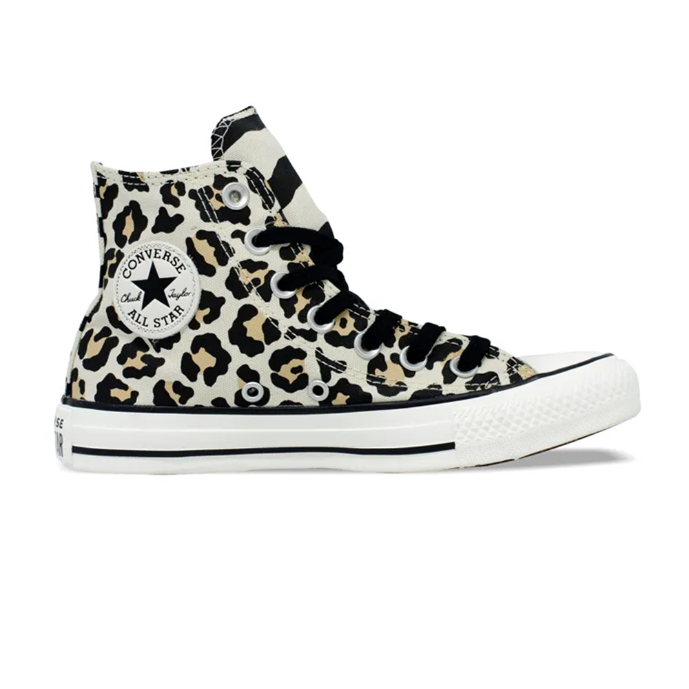 Tênis All Star Chuck Taylor Lona Cano Médio Converse Animal Print
