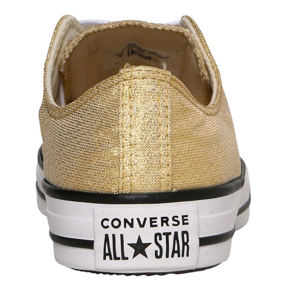 Tênis All Star Chuck Taylor Lona Converse Dourado