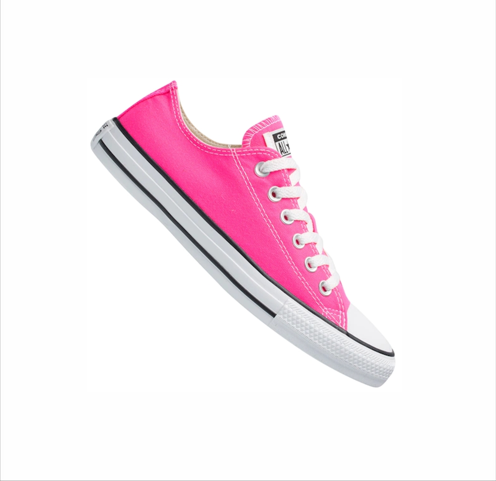 Tênis All Star Chuck Taylor Lona Converse Pink Infantil