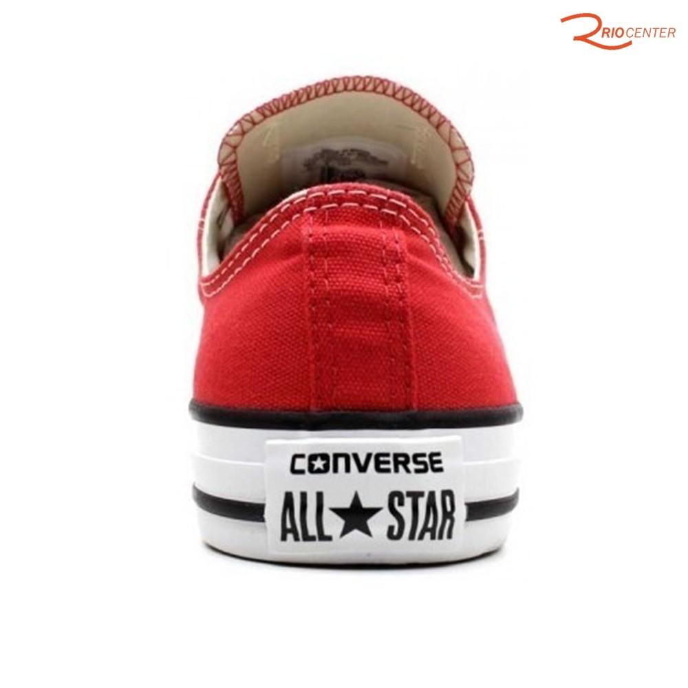 Tênis Converse All Star Chuck Taylor Lona Cano Curto - Vermelho