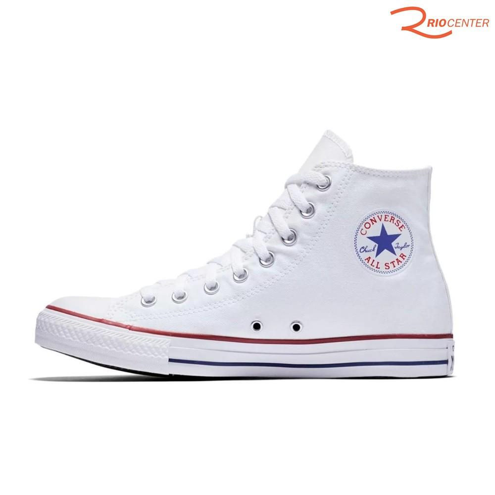 Tênis Converse All Star Chuck Taylor Lona Cano Médio - Branco