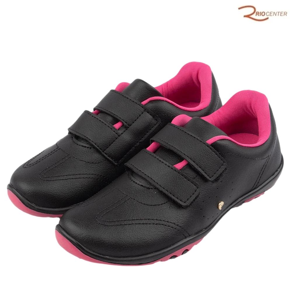 Tênis Infantil Honey Pampili Preto/Pink