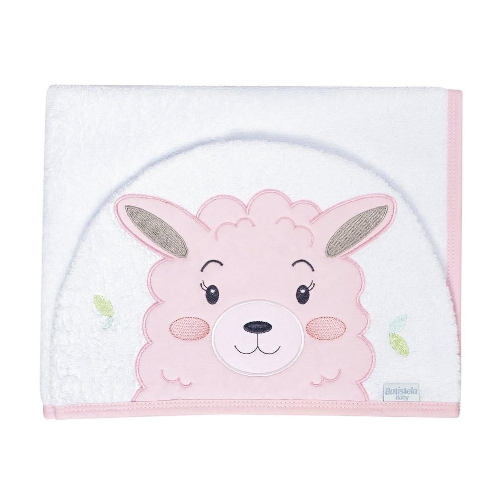 Toalha de Banho com Capuz Bichinho Batistela Baby