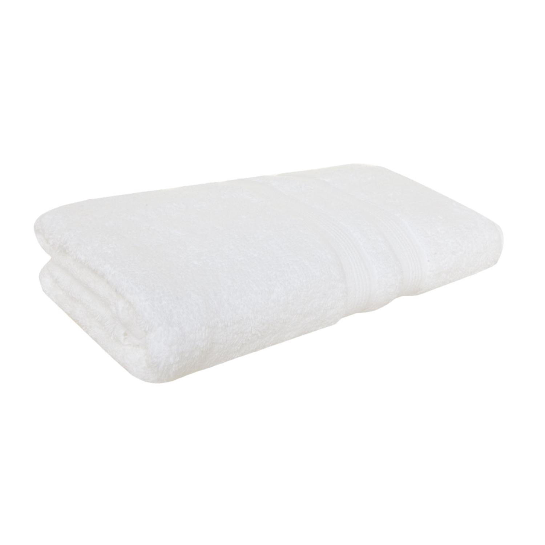 Toalha De Banho Em Algodão Egípcio Buddemeyer Branca