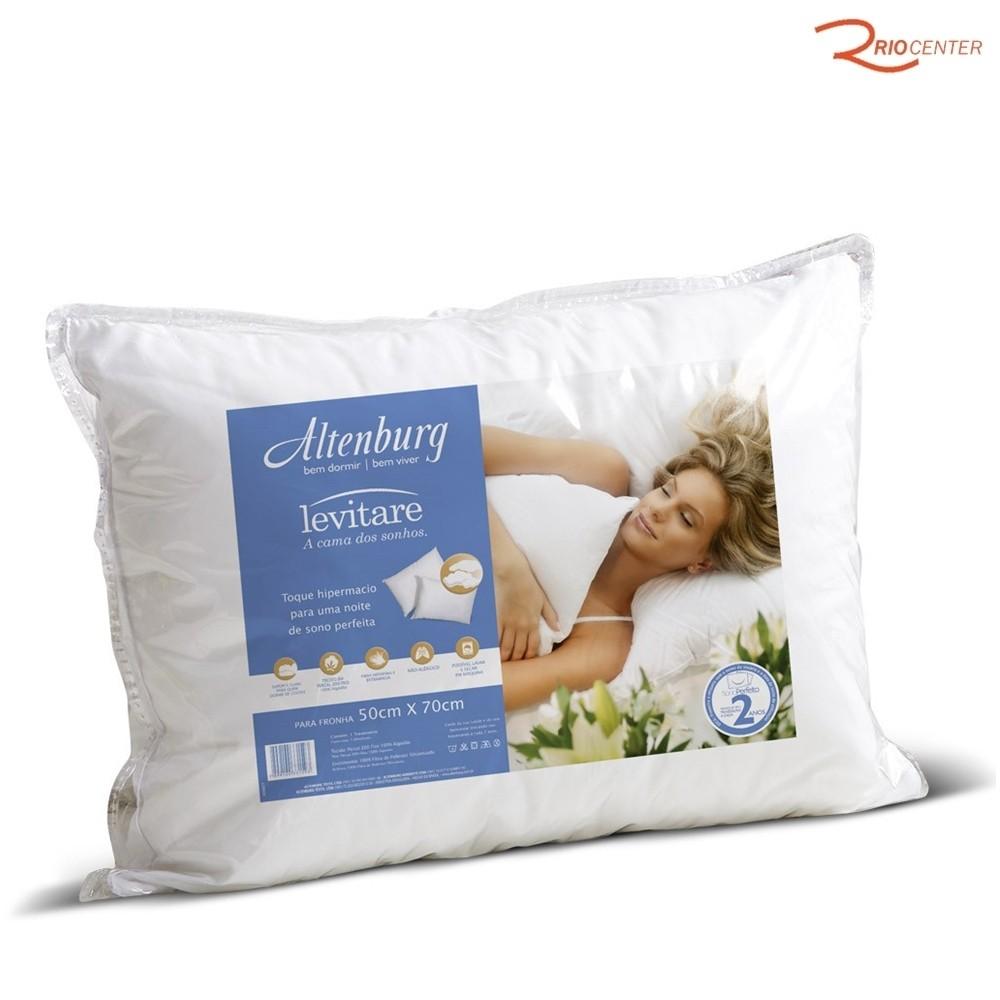 Travesseiro Altenburg Levitare Branco - 50X70cm
