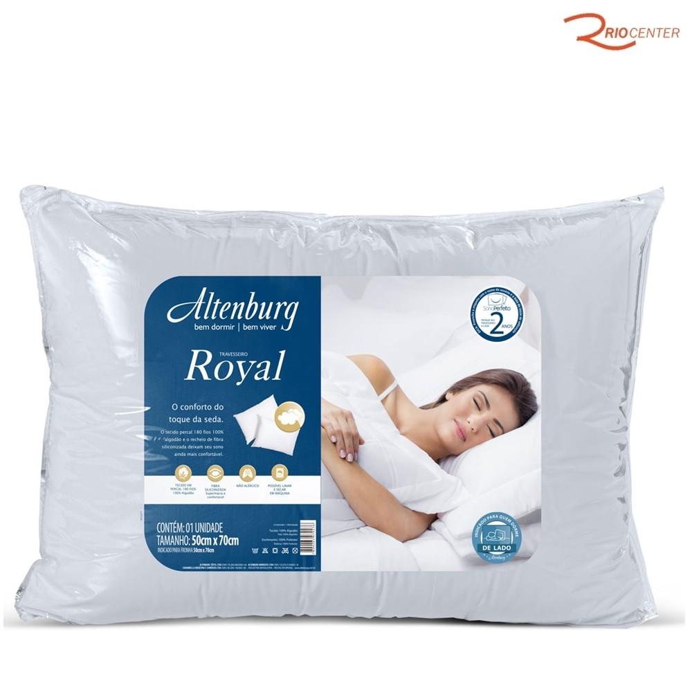 Travesseiro Altenburg Royal Branco - 50X70cm