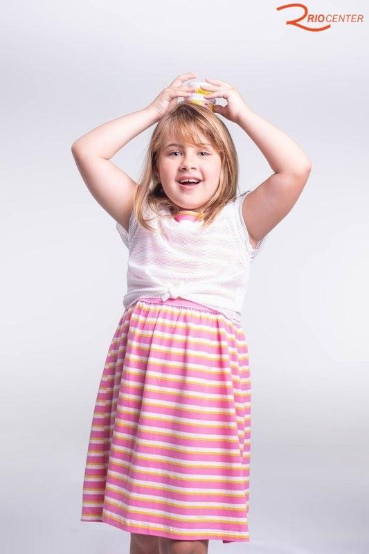 Vestido Com Blusa Momi Em Malha Estampado