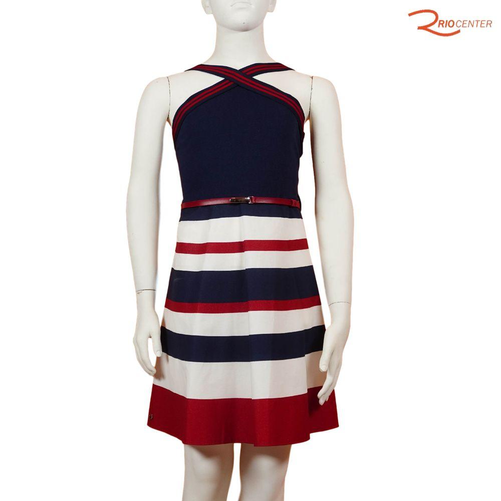 Vestido Lilysky Cotton Leve Marinho