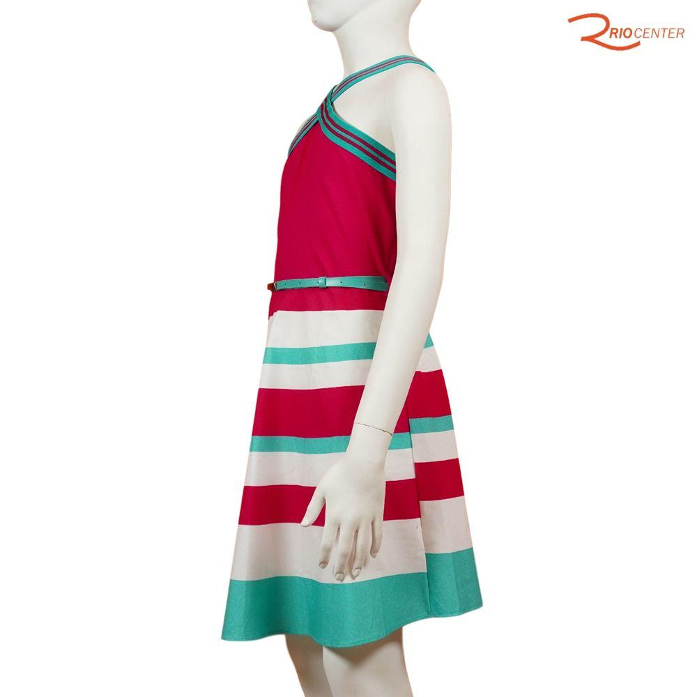 Vestido Lilysky Cotton Leve Rosa