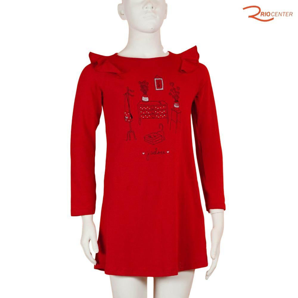 Vestido Vermelho Have Fun Silk Cômoda
