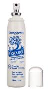 Desodorante Natural com Extratos de Pepino e Chá Verde   Orgânico Natural - 120ml