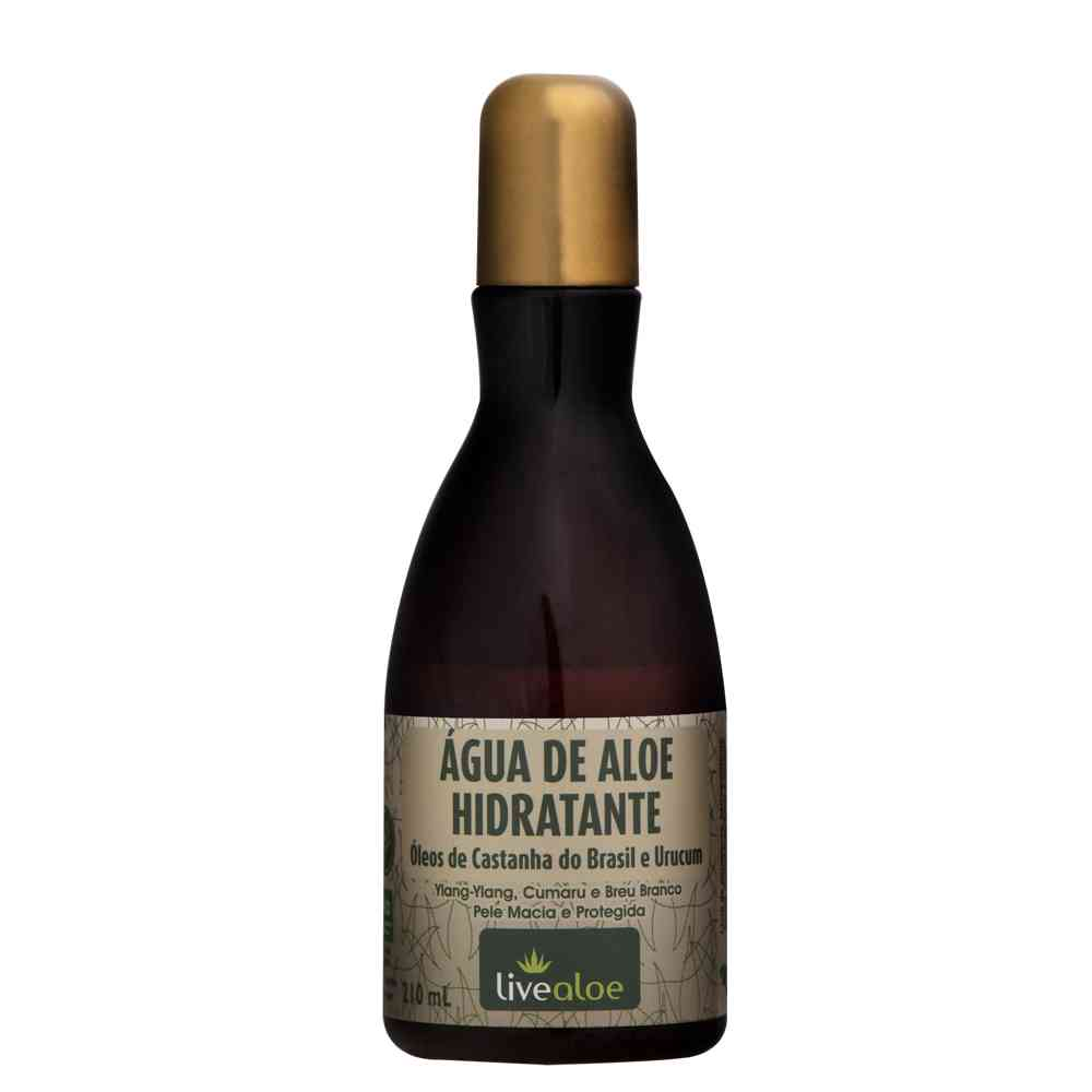 Água de Aloe Vera Hidratante| Live Aloe - 210 ml