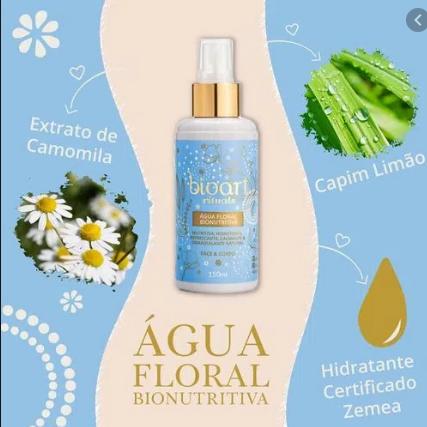 Água Floral Bionutritiva| Bioart - 150ml