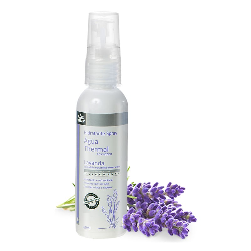 Água Thermal de Lavanda| WNF - 60ml