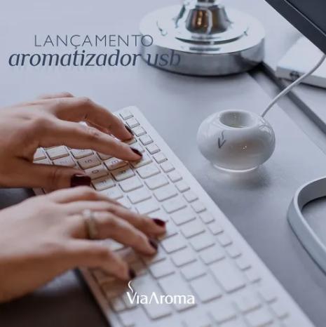 Aromatizador Elétrico USB | Via Aroma