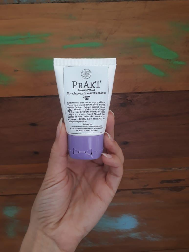 Creme facial de FLOWER PETALS| PRAKT - 30g