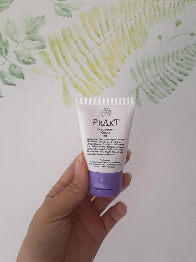 Creme facial de LEMONGRASS| PRAKT - 30g