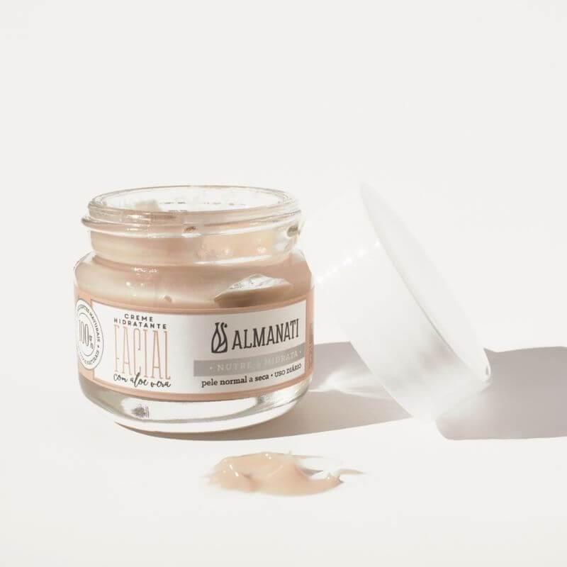 Creme Hidratante Facial| Almanati - 30g