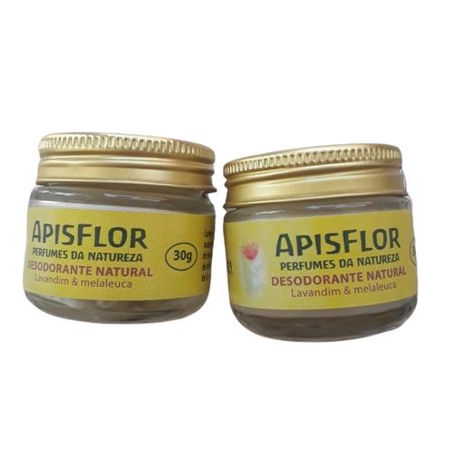 Desodorante Natural em pasta| Apisflor - 30g