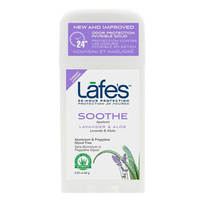 Desodorante Natural Twist Stick SOOTHE Lavanda e Aloe | Lafe's - 80g