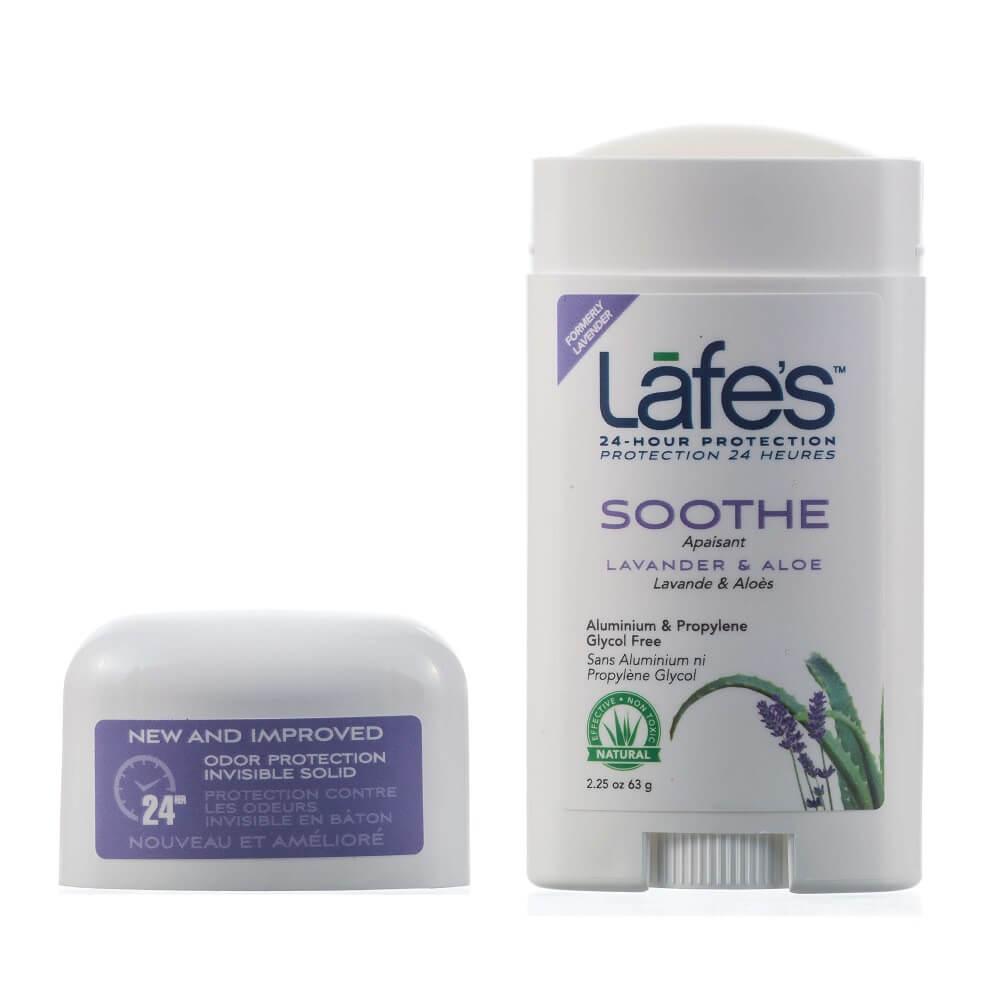 Desodorante Natural Twist Stick SOOTHE Lavanda e Aloe | Lafe's - 64g
