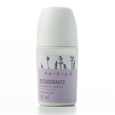 Desodorante Roll-on Natural Lavanda & Verbena| Herbia - 50ml