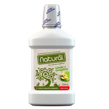 Enxaguante Bucal de LIMÃO E GENGIBRE | Orgânico Naturäl  - 250ml