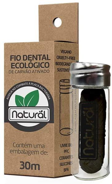 FIO DENTAL ECOLÓGICO de Cravão 30m  Or. Natural