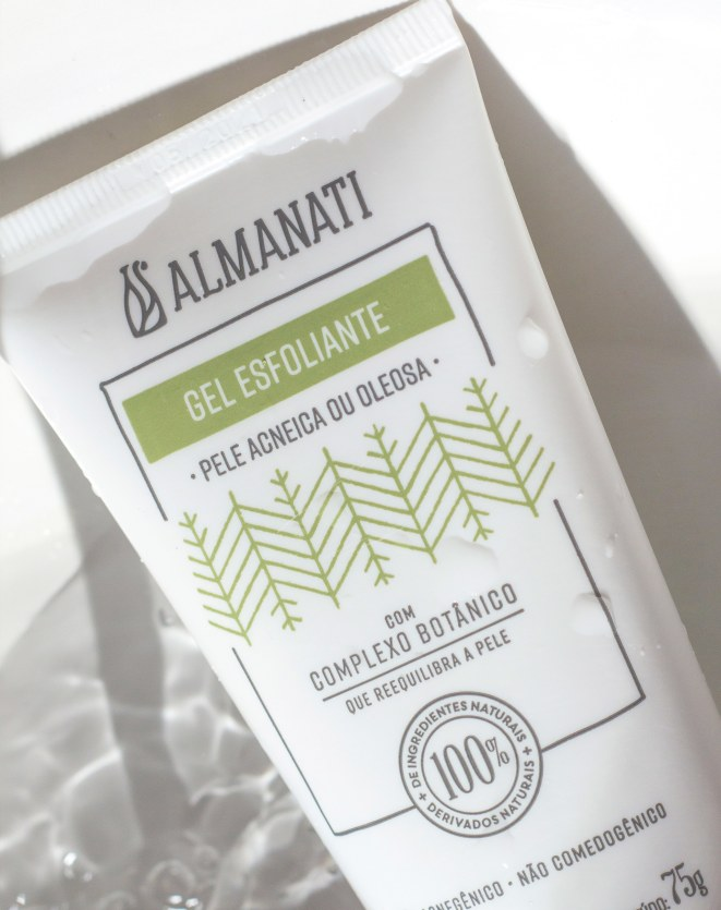 GEL ESFOLIANTE Facial| Almanati - 75g