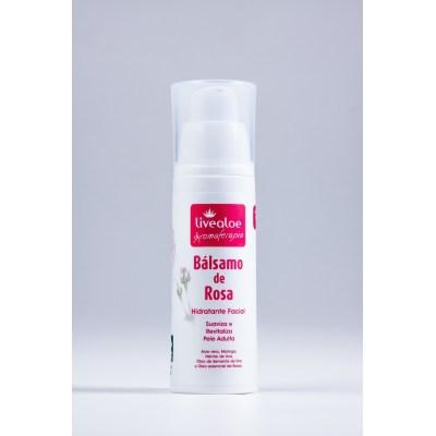 Hidratante facial Bálsamo de Rosa| Livealoe - 30ml