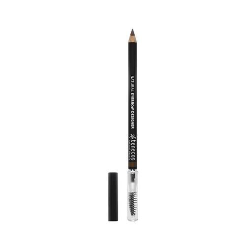 Lápis de sobrancelha NATURAL EYEBROW-DESIGNER- GENTLE BROWN | Benecos 1g