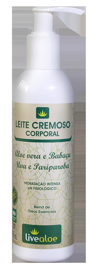 Leite Cremoso Corporal | Live Aloe - 240 ml