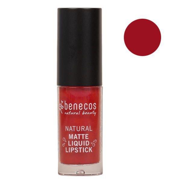 Natural Matte Liquid Lipstick TRUST IN RUST Benecos - 5ml