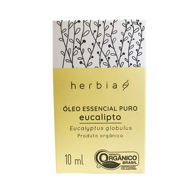 Óleo Essencial de Eucalipto Globulus| HERBIA - 10ml