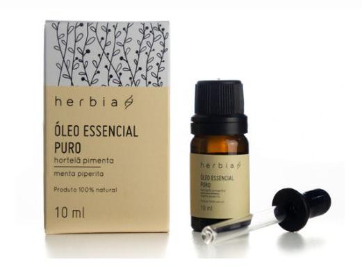 Óleo Essencial de Hortelã Pimenta | Herbia - 10ml