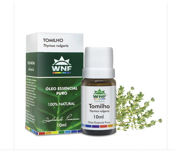 Óleo Essencial de Tomilho  WNF - 10ml