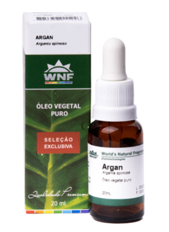 Óleo Puro Vegetal de Argan| WNF- 20ml