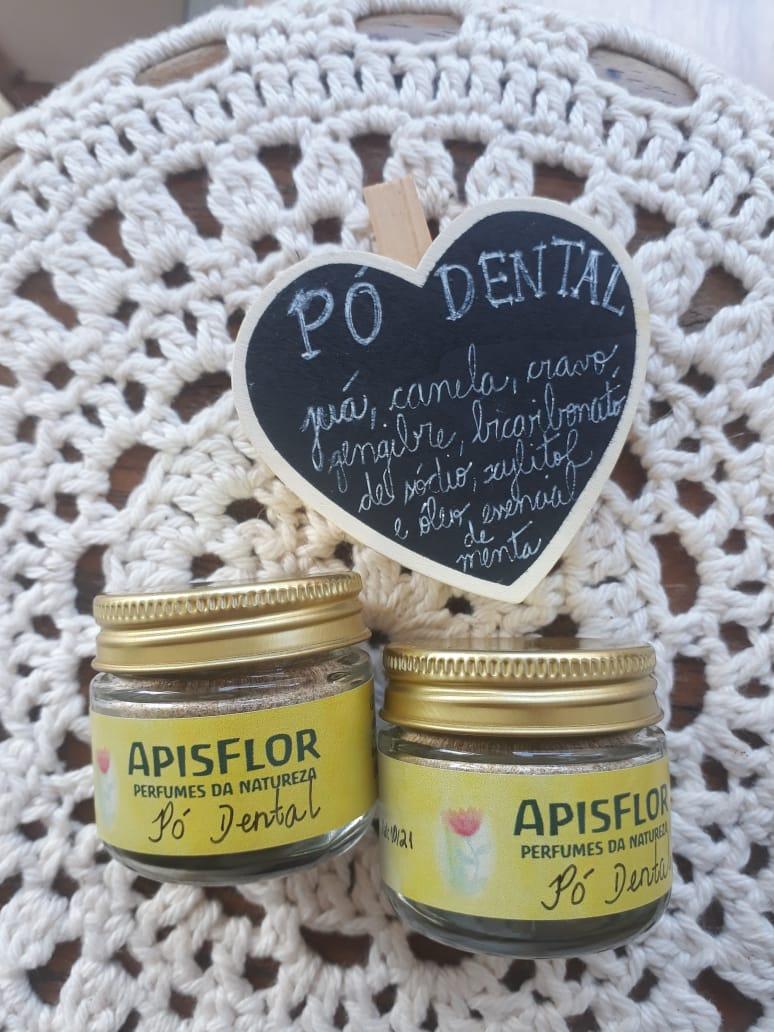 Pó dental Natural| Apisflor - 30g