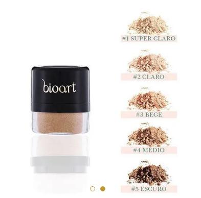 Pó Facial Bionutritivo #1| Bioart - 4g
