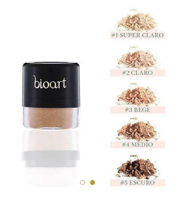 Pó Facial Bionutritivo #2| Bioart - 4g
