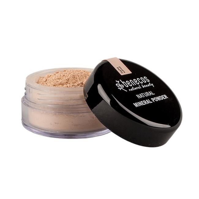 Pó Facial Mineral Natural Light Sand| Benecos - 10g