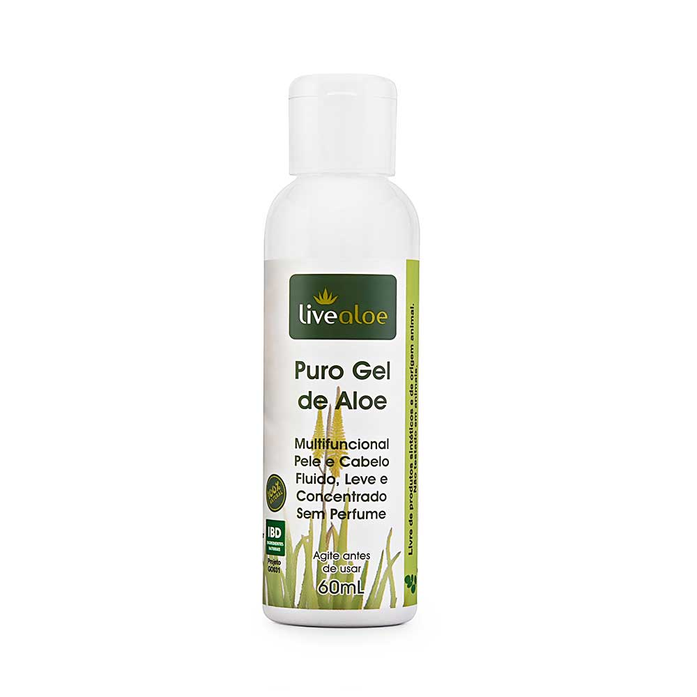 Puro gel de Aloe | Livealoe - 60ml