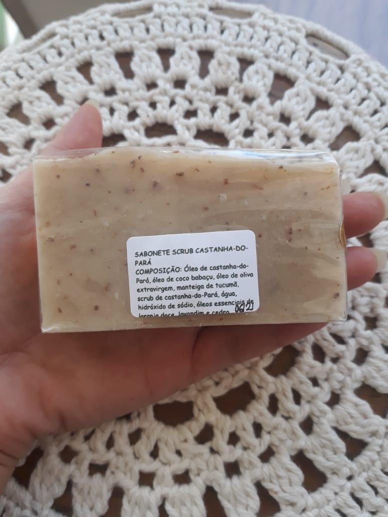 Sabonete scrub castanha-do-pará   Apisflor - 100g